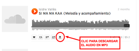 descarga de soundcloud